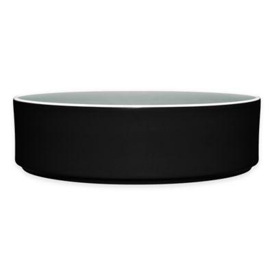Noritake® ColorTrio Stax Serving Bowl in Graphite