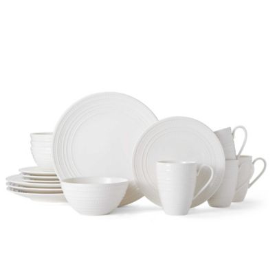 Mikasa® Vella 16-Piece Dinnerware Set in White