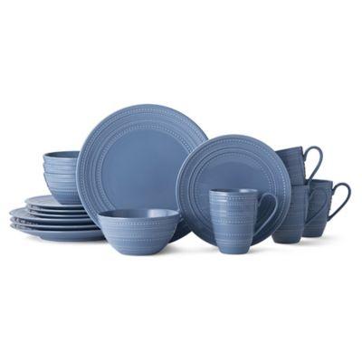 Mikasa® Vella 16-Piece Dinnerware Set in Blue