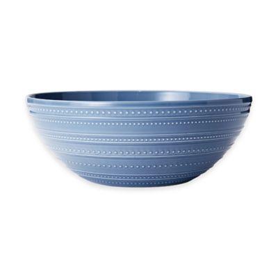 Blue Vegetable Bowl