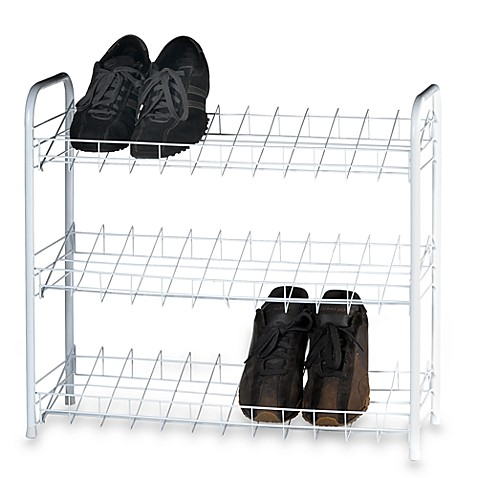 Three-Tier Shoe Shelves