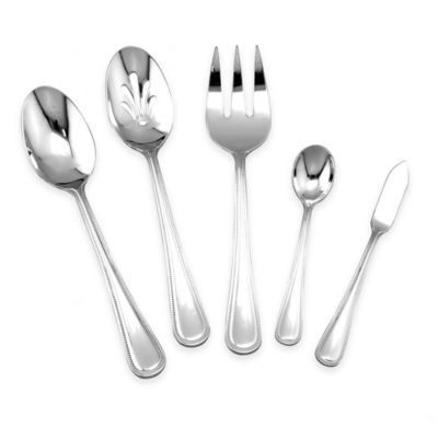 Michael Lloyd Pearl 5-Piece Hostess Serving Set