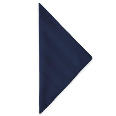 Navy Striped Napkins