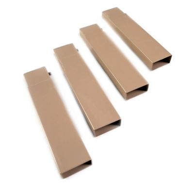 Disc-O-Bed Leg Extensions in Tan (Set of 4)