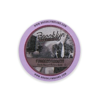 Brooklyn Bean Roastery 16-Count Fuhgeddaboutit Coffee for Single Serve Coffee Makers