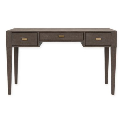 Delmonico Writing Desk in Shagreen