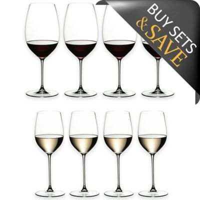 Riedel® Veritas Chardonnay/Cabernet Wine Glasses Buy 6 Get 8 Value Set