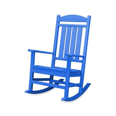 POLYWOOD® Presidential Rocker in Pacific Blue