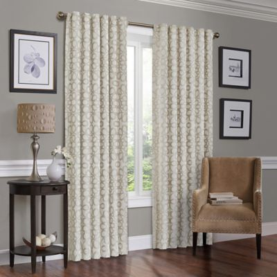 Solar Shield Jaden 84-Inch Room-Darkening Window Curtain Panel Sapphire