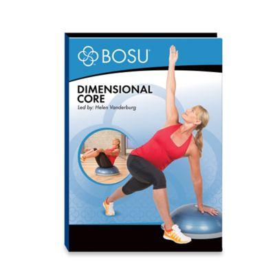 BOSU® Dimensional Core DVD
