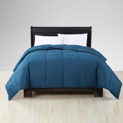 VCNY Reversible Down Twin XL Comforter in Navy