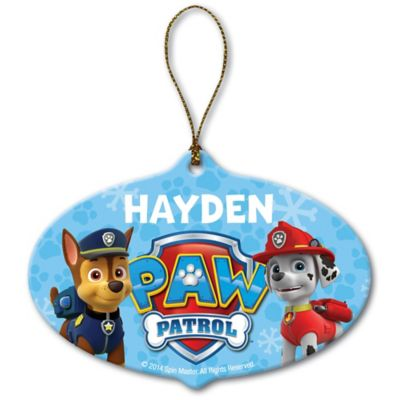 Nickelodeon™ PAW Patrol Chase and Marshall Christmas Ornament