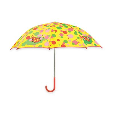 Melissa and Doug Mollie and Bollie Umbrella in Yellow/Multi Dots