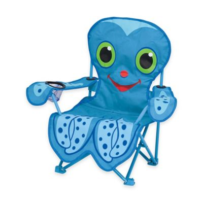 Melissa and Doug Octopus Folding Chair in Blue