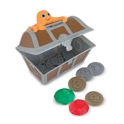Melissa and Doug Undersea Treasure Hunt Game in Brown