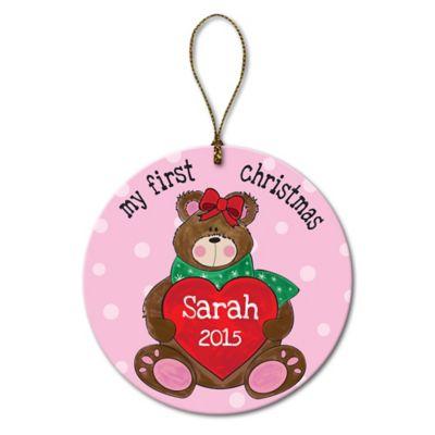"""My First Christmas"" Christmas Ornament"