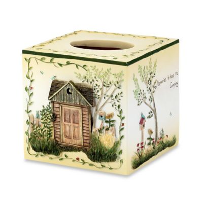 Outhouses Boutique Tissue Holder