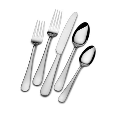 Gourmet Basics by Mikasa® Sincerity 65-Piece Flatware Set