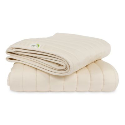 Greenbuds Crib/Toddler Cotton Comforter with Wool Fill
