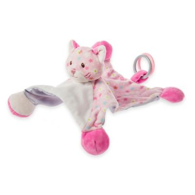 Mary Meyer® Little Nuzzle Kitty Activity Blanket in Pink