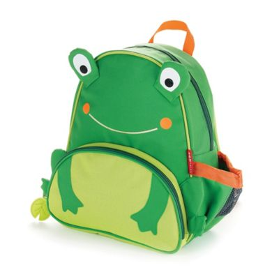 SKIP*HOP® Frog Zoo Little Kid Backpack