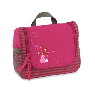 Lassig 4Kids Mini Washbag in Mushroom Magenta