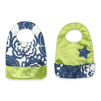 Ju-Ju-Be® Be Neat Bib in Cobalt Blossoms