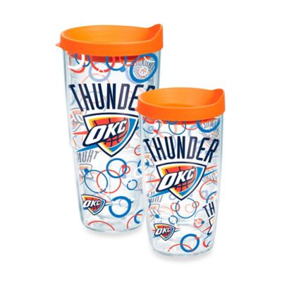 Tervis® NBA Oklahoma Thunder Bubble Up 16 oz. Wrap Tumbler with Lid