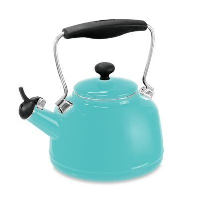 Chantal® 2 qt. Vintage Tea Kettle in Aqua