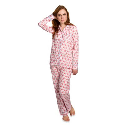 Starfish Small Women's 2-Piece Pajama Pant Set in Pink