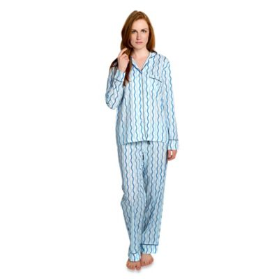 Sailor Small Women's 2-Piece Pajama Pant Set in Blue