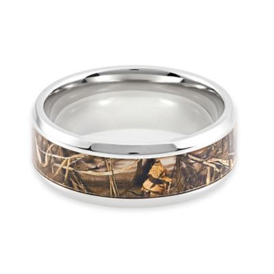 Lashbrook® Titanium Real Tree Max4 Camo Size 6 Ladies' Ring