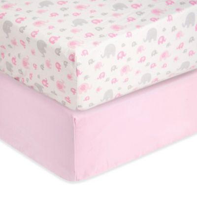 Pink Crib Bedding Set