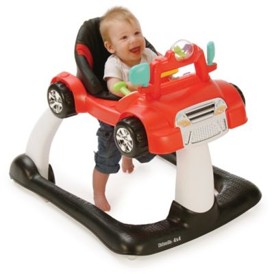 Kolcraft® 4X4 2-in-1 Activity Walker in Racer Red