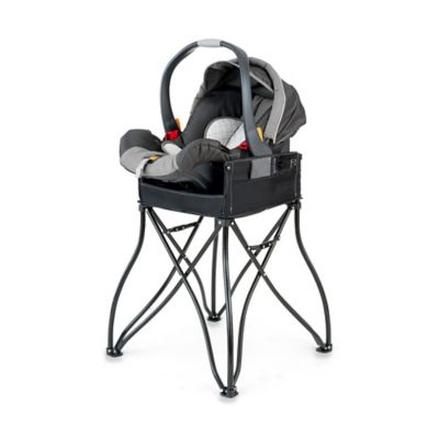 Phoenix Baby GoTo™ 2-in-1 Infant Car Seat Station and Travel High Chair in Black