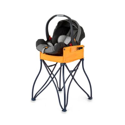 Phoenix Baby GoTo™ 2-in-1 Infant Car Seat Station and Travel High Chair in Orange