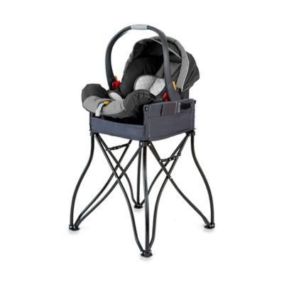 Phoenix Baby GoTo™ 2-in-1 Infant Car Seat Station and Travel High Chair in Grey