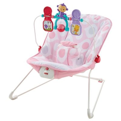 Fisher-Price® Baby's Bouncer in Pink Ellipse™
