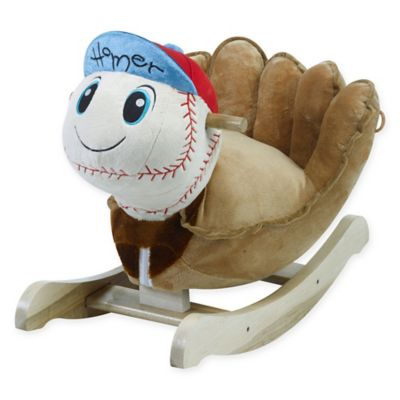Rockabye™ Homer Baseball Musical Chair Rocker