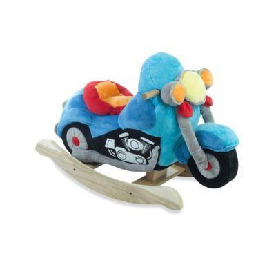 Rockabye™ Lil' Biker Motorcycle Musical Rocker