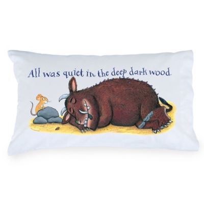 "The Gruffalo ""All Was Quiet"" Pillowcase"