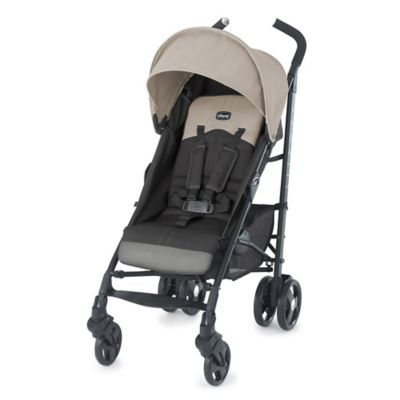 Chicco® Liteway™ Stroller in Almond (Beige/Grey)