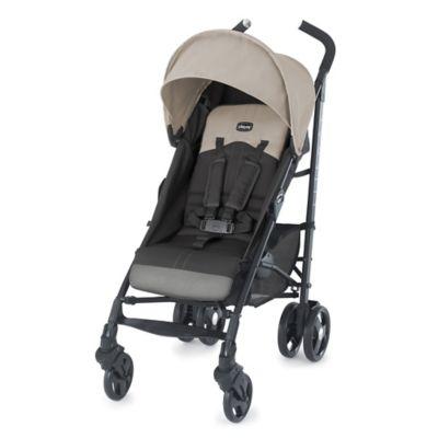 Chicco® Liteway™ Stroller in Almond (Beige/Grey)