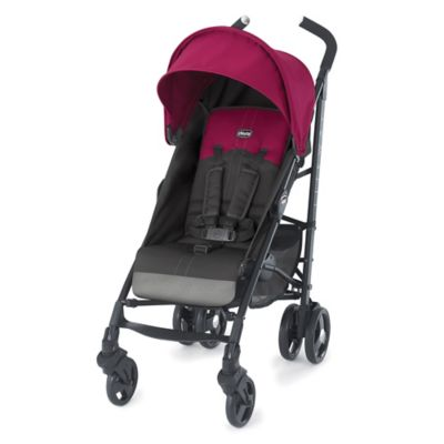 Chicco® Liteway™ Stroller in Jasmine (Magenta/Dark Grey)