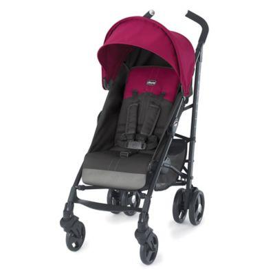 Chicco® Liteway™ Stroller in Jasmine (Magenta/Dark Grey)