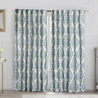 VCNY London 108-Inch Back Tab Window Curtain Panel in Linen