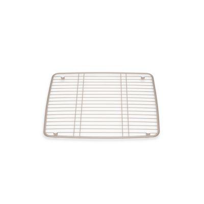 InterDesign® Kitchen Sink 16-Inch x 13-Inch Protector Grid Mat in Satin
