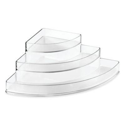 InterDesign® Linus 3-Tier Stadium Corner Spice Rack