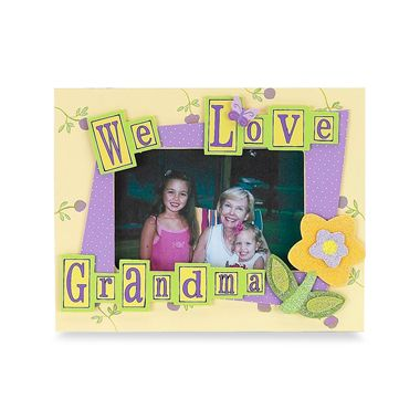 We Love Grandma 4-Inch x 6-Inch Frame by So Seong inc.