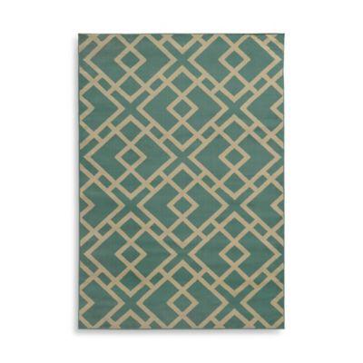 Oriental Weavers Ella Geometric Diamonds 5-Foot 3-Inch x 7-Foot 3-Inch Area Rug in Blue
